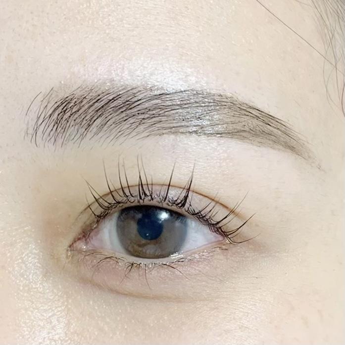 眉毛パーマ+ラッシュリフト